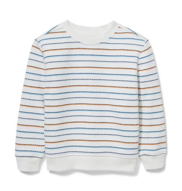 Striped Terry Pullover