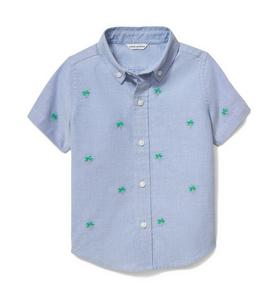 Palm Oxford Short Sleeve Shirt
