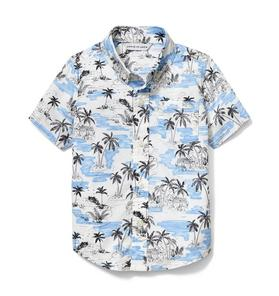 Palm Print Shirt