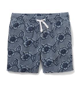 Hibiscus Linen Short