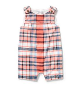 Plaid Short 1-Piece