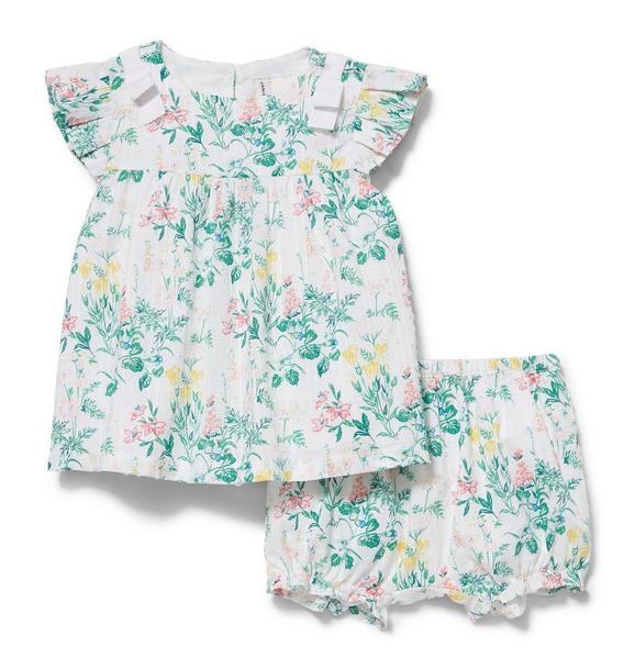 Floral Print Matching Set