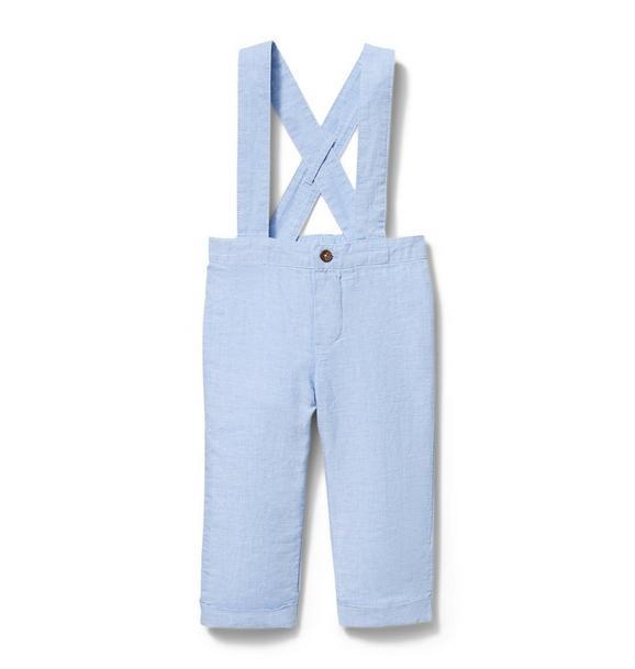 Linen Suspender Pant