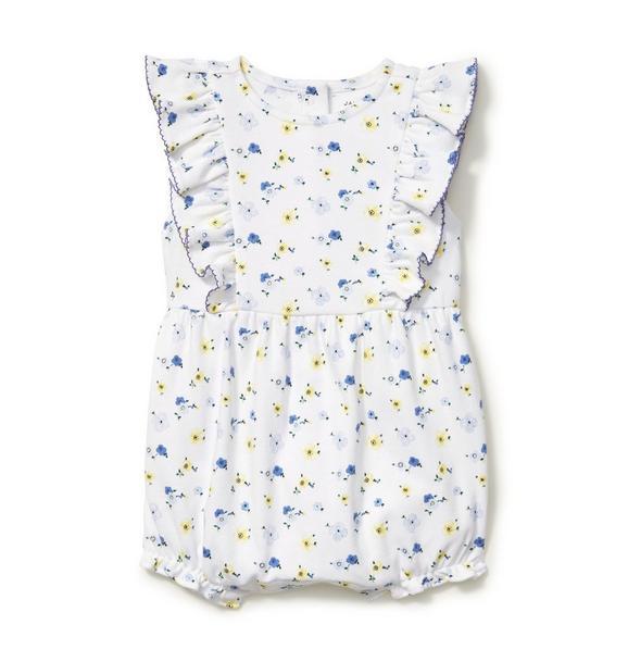 Baby Floral Print Romper