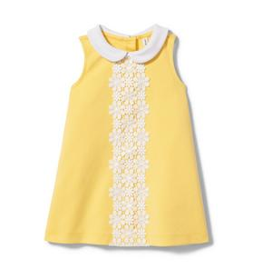 NWT Janie and Jack girl 3-piece blue yellow floral SUMMER dress SPRING 3 6 9 12