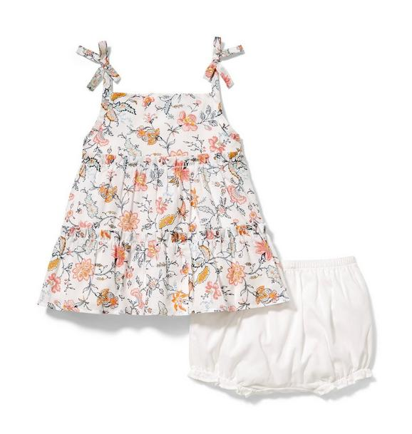 Tiered Floral Matching Set