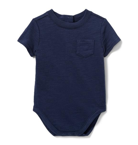 Slub Pocket Bodysuit