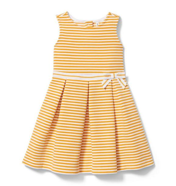 Stripe Ottoman Dress