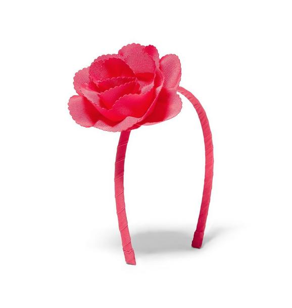 Scalloped Flower Headband