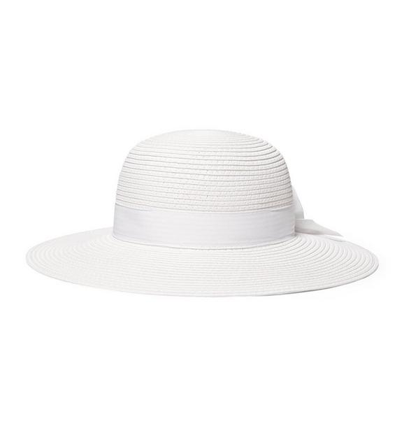 Bow Straw Sun Hat