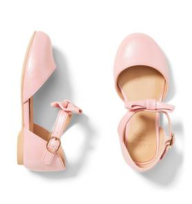 Pearlized Bow Flat