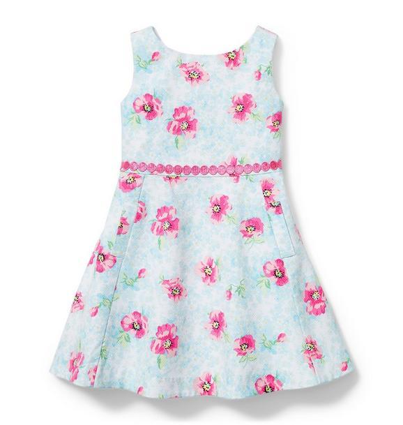 Floral Pique Dress