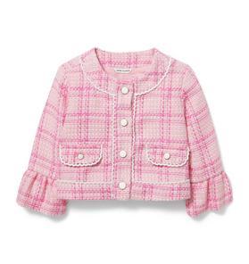 Plaid Tweed Jacket