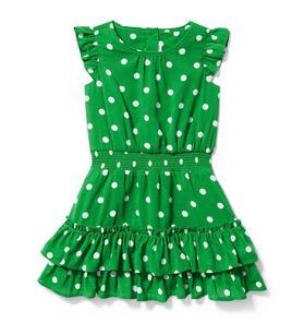 Dot Chiffon Dress