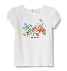 Embroidered Garden Tee