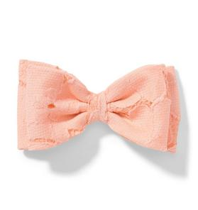 Lace Bow Barrette