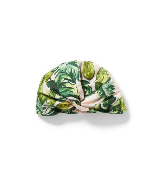 Palm Print Turban