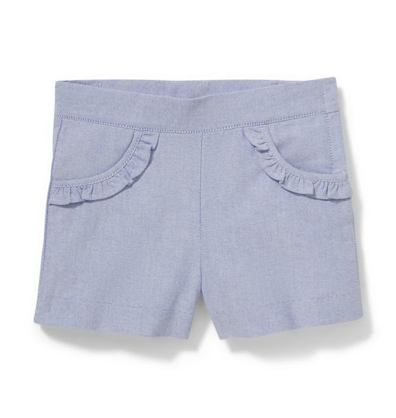 Ruffle Pocket Short