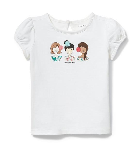 Girls Trio Tee