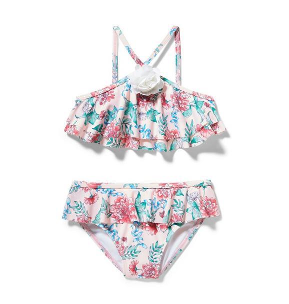 Floral 2-Piece Swimsuit