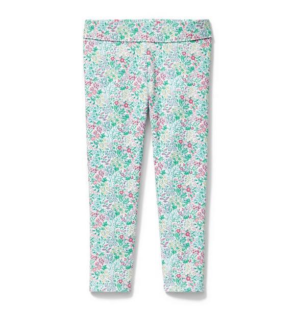 Mini Floral Ponte Pant