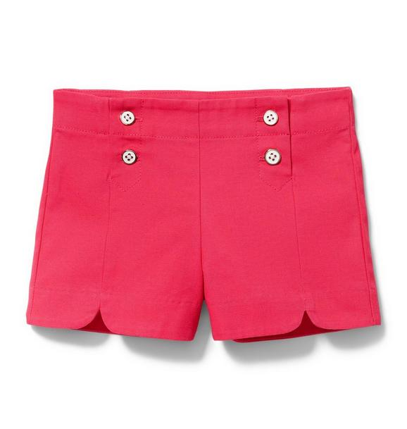 Button Front Short