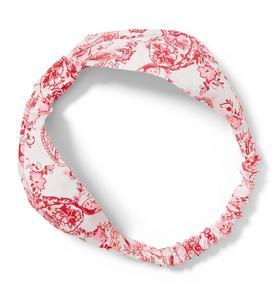 Paisley Print Knot Headband