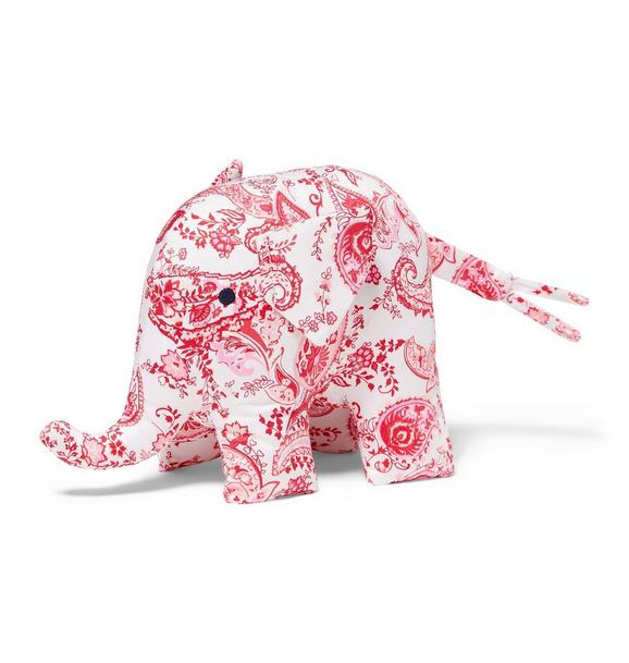 Paisley Print Elephant Plush