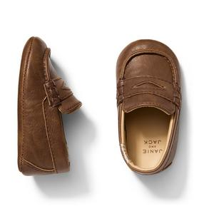 Penny Loafer Crib Shoe