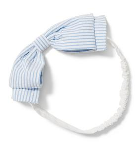 Seersucker Soft Bow Headband