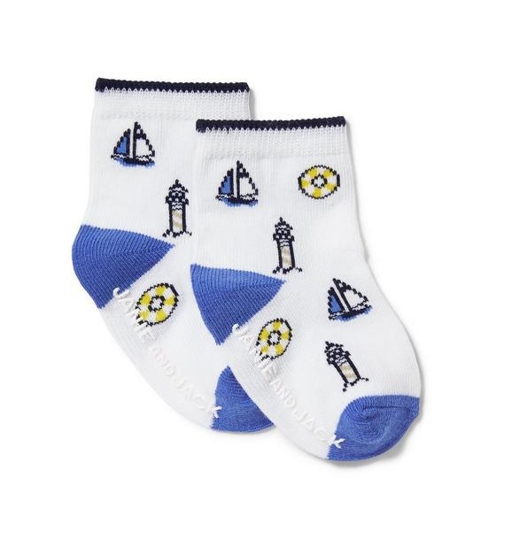 Nautical Sock