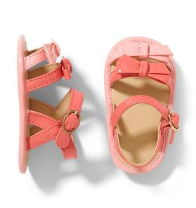 Ombre Bow Sandal