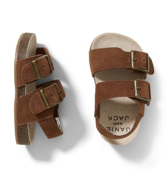 Leather Huarache Sandal
