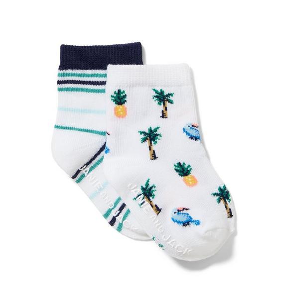 Tropical Sock 2-Pack