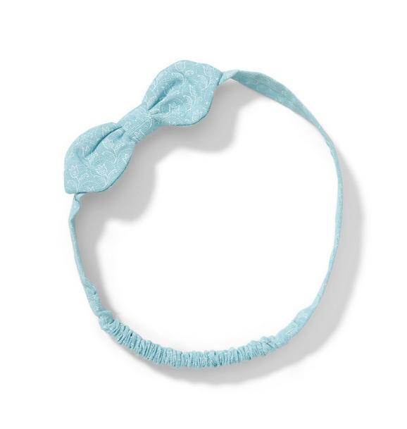 Linen Bow Soft Headband