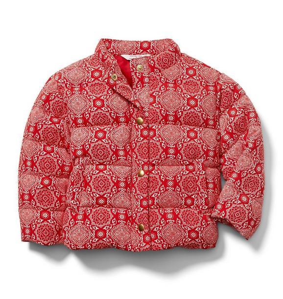 Juno Valentine Bandana Puffer Jacket