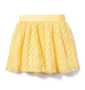Juno Valentine Floral Lace Skirt