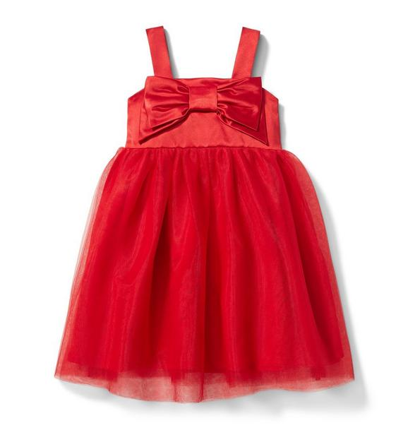 Juno Valentine Bow Tulle Dress