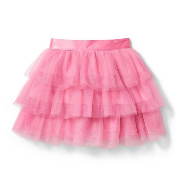 Juno Valentine Tiered Tulle Skirt