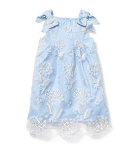 Juno Valentine Shimmer Organza Dress