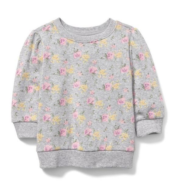 Juno Valentine Floral Sweatshirt