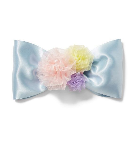 Juno Valentine Bow Flower Barrette
