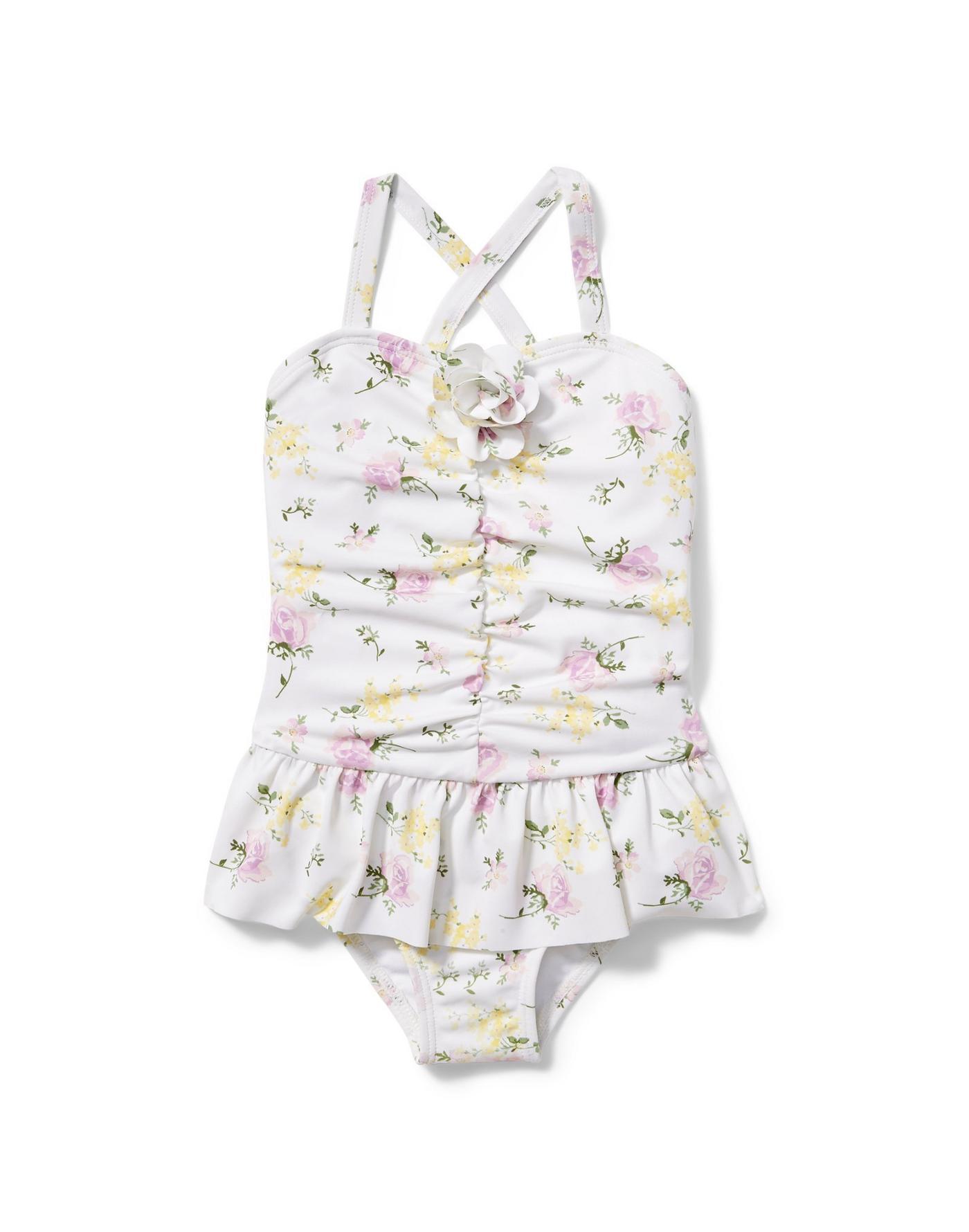 Juno Valentine Floral Swimsuit