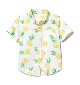 Pineapple Poplin Shirt