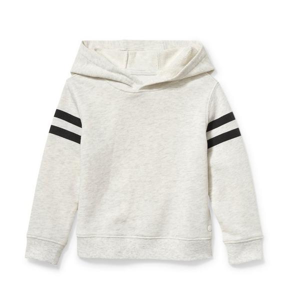 Stripe Sleeve Hoodie