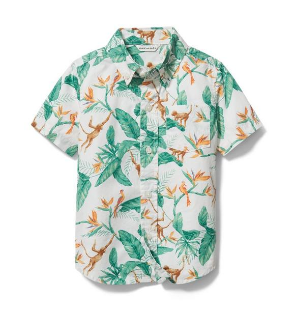 Tropical Poplin Shirt