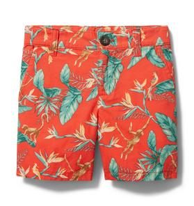 Tropical Poplin Short