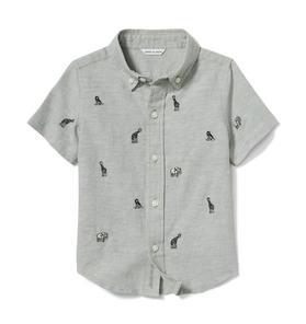 Safari Animal Linen Shirt