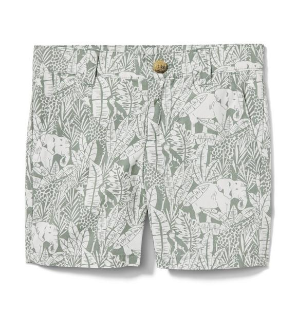 Elephant Poplin Short