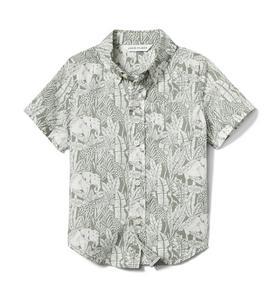 Elephant Poplin Shirt